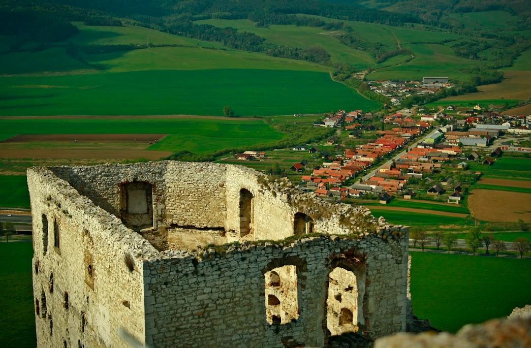 Vyhled zo Spisskeho hradu