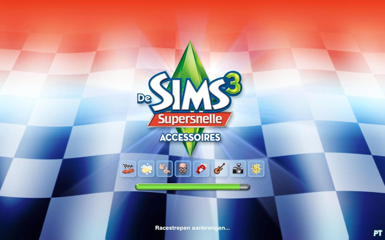 De Sims 3 Supersnelle Accessoires laadscherm