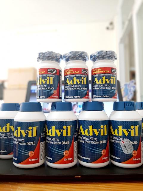 Viên giảm đau hạ sốt Advil 200mg Mỹ