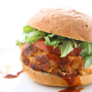 Barbecue Chickpea Burgers.