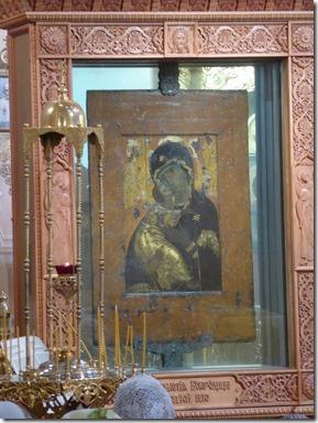 Vierge Du Don  eglise musée St Nicolas de Tolmatchi