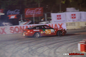 Nissan drifting in Malta Allstars