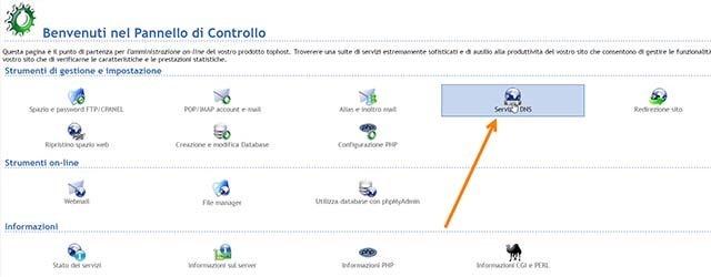 configurazione-dns-tophost