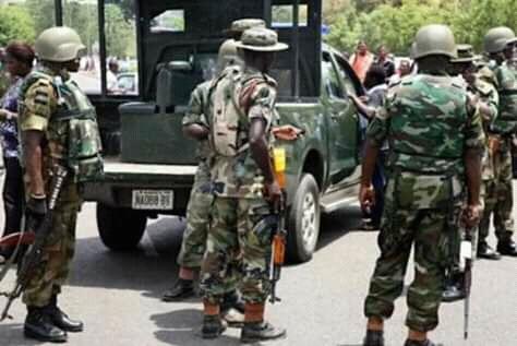 BREAKING!!! Just After Ikpeazu stormed 'keke' rider residence, Army Arrest Killer Soldier in Aba