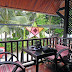 unser gemütlicher Balkon in Luang Prabang
