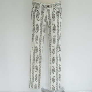 Isabel Marant Floral Jeans