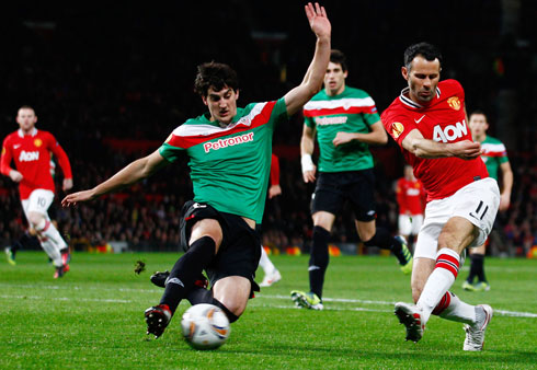 Ryan Giggs, Manchester United - Athletic Bilbao