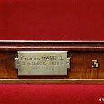 Assemblée nationale : fauteuil de Georges Mandel