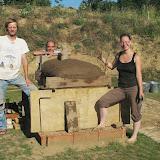 Stavba pece - třetí víkend
