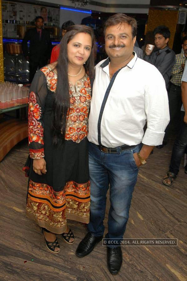 Preeti and Jinesh Kothari during Vihaan's first birthday bash at M's Repose, in Nagpur.