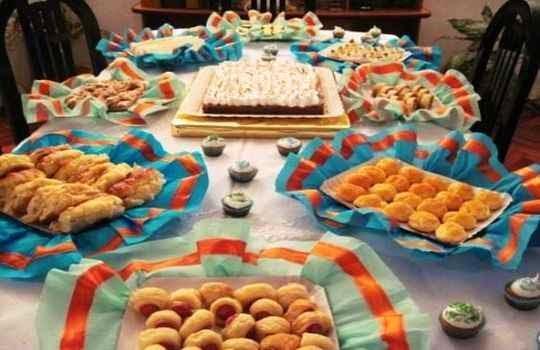 Comidas para usar en una fiesta de adultos