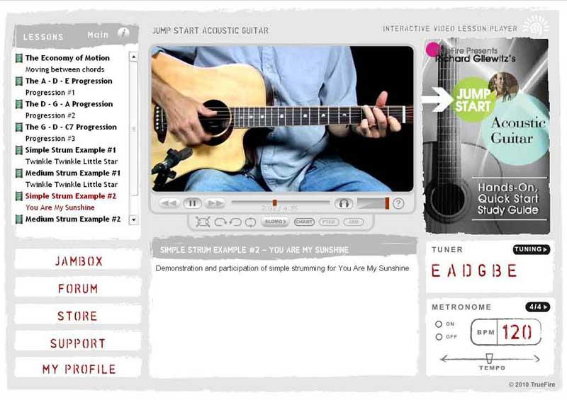Richard Gilewitz - Jump Start Acoustic Guitar
