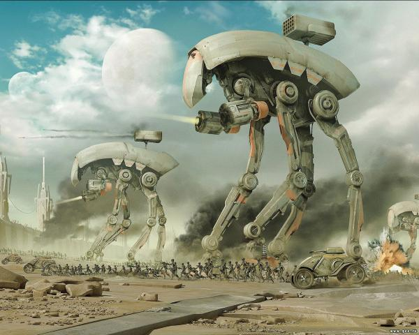 Robots Attack, Fiction 2