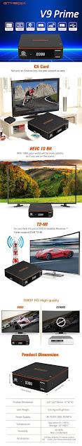 Hot sale Gtmedia V8X DVB-S2X Satellite TV Receiver Same as Gtmedia V8 NOVA V9 Prime V8 Honor Built-in WIFI H.265 1080P No app