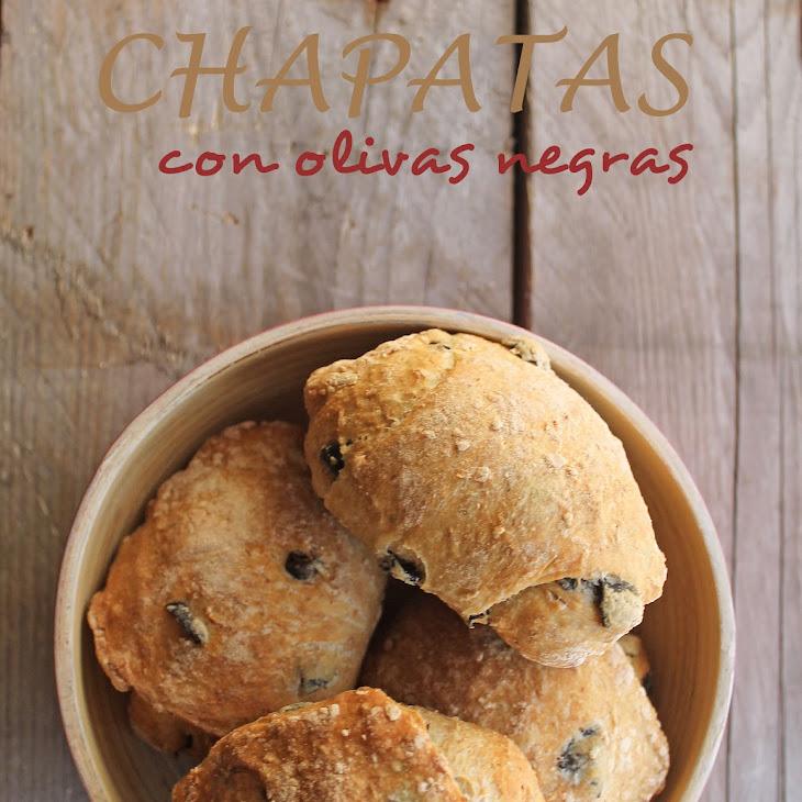 Ciabatta with Black Olives