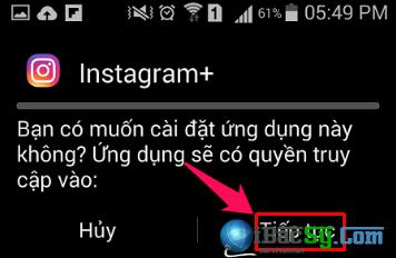 Hướng dẫn tải ảnh Instagram trực tiếp trên điện thoại Android + Hình 3