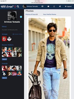 Photos page