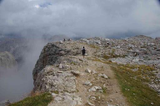 Le val Setus (en haut de la via ferrata).