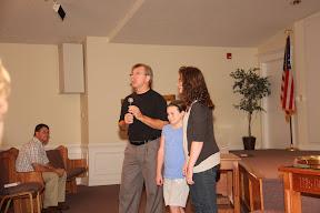 Heather & Olivia Offenbacker  preparing for baptism
