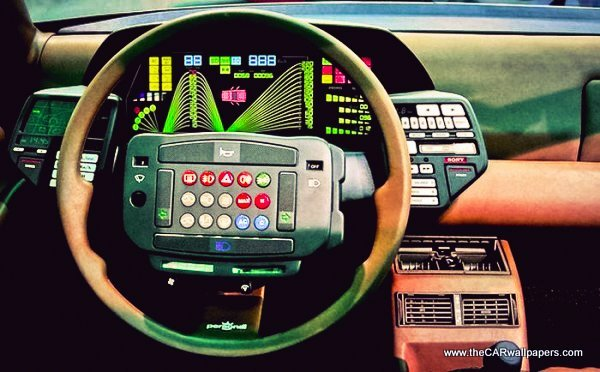 Funny Steering Wheels - Lancia Orca 1982
