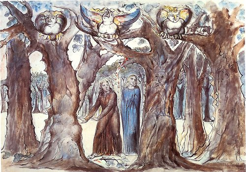 William Blake Illustrations To Dante Divine Comedy 2, William Blake