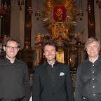 Orgel und Soli - Kurt Estermann und Dominik Bernhard, Orgelpositiv; Michael König, Reinisch-Orgel - Geistliche Abendmusik in der Basilika Wilten - 31.08.2015