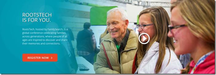 参加rootstech 2016,是该地球上最大的家谱会议。