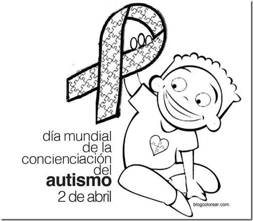 Dibujos Para Colorear Día Del Autismo Colorear Dibujos Infantiles