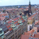 Wroclaw!  Taken from the Witch's Bridge!