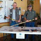 Jack and Dave at the Trail Maintenance Table