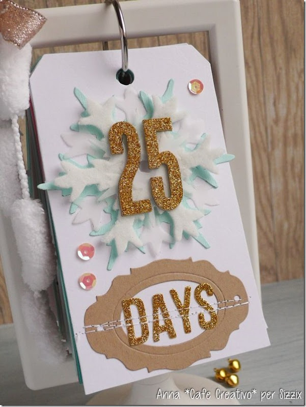 Christmas Countdown-Sizzix-big shot-fustelle-ikea-cornice-tag-scrapbooking by AnnaDrai cafecreativo - 1