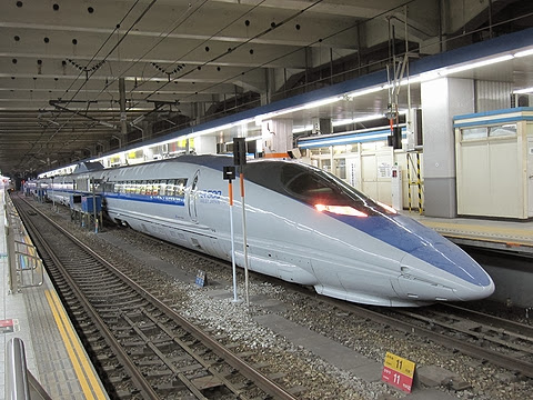 JR西日本 500系「こだま」 博多駅にて
