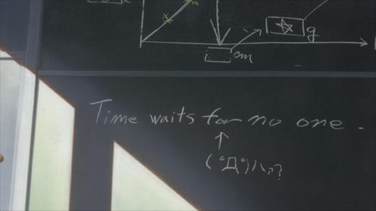 La Ragazza che Saltava nel Tempo - Il tempo non aspetta nessuno