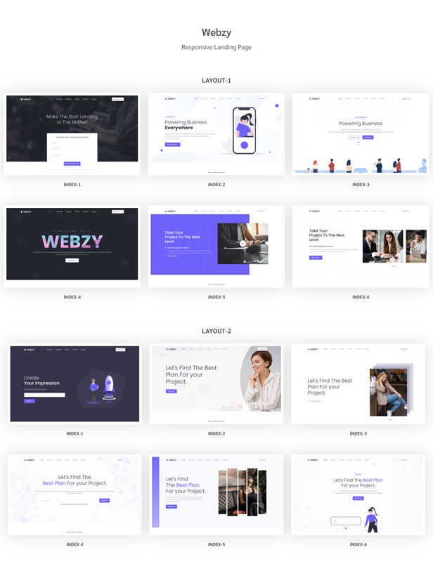 Xolcy - Bootstrap5 Creative Landing Page Template - 1