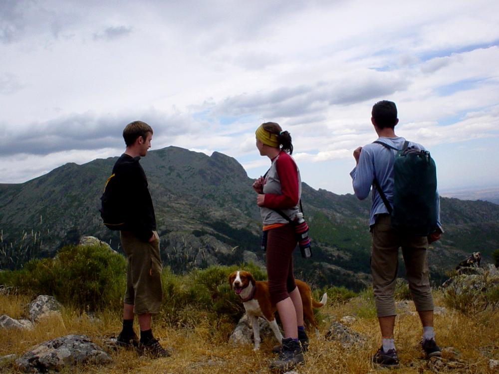 2004 · Navacerrada, disfrutando el paseo