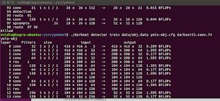 Get killed when train YOLOv3 on Nvidia Jetson TX2 with Ubuntu16 4