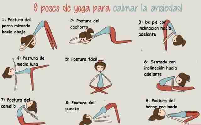 Practicar yoga para combatir la ansiedad