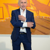 WWW.ENTSIMAGES.COM -   Wayne Sleep  at   Julio Larraz - Rules of Engagement - private view at Contini Art UK, London October 2nd 2014Private view of exhibition devoted to the paintings by Cuban born artist Julio Larraz, his first major solo exhibition in London, featuring paintings, sculptures and caricatures.                                                Photo Mobis Photos/OIC 0203 174 1069
