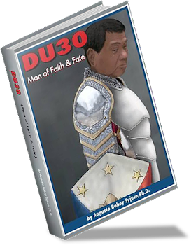 Image of The total book states  over the politics of the Philippines. The democracy and matters concerning President Duterte.