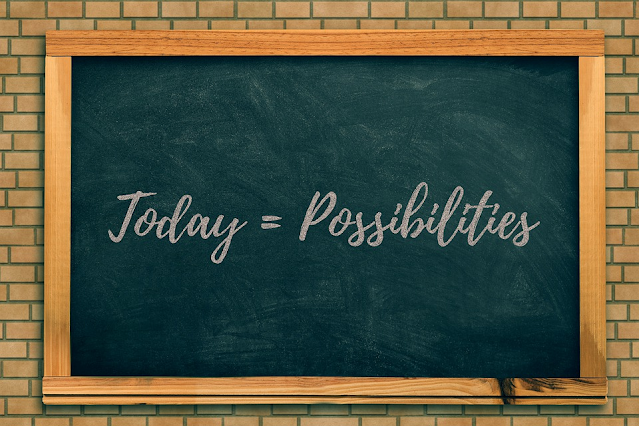 Today equals Possibilities