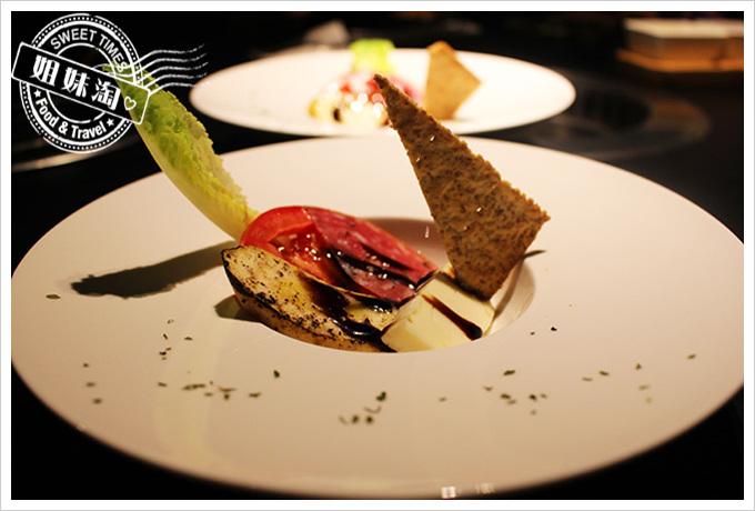 五角銀燒肉法式前菜