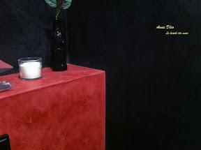 Toilettes - Enduit a la chaux - Stucco