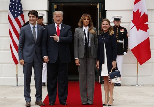 Melania-Trump-with-Justin-Trudeau-