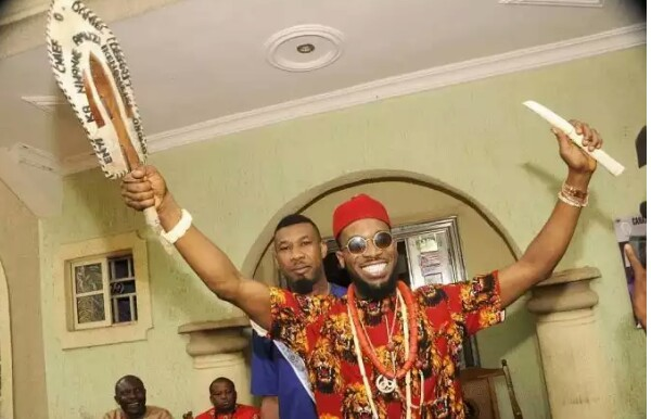 Congrats!! D'banj Bags Chieftaincy Title In Imo (The Enyi Ka Nwanne of Amuzi Obowo)