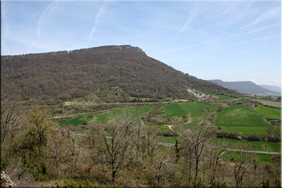 Murube visto desde las faldas de Ilarratza (San Kristobal)
