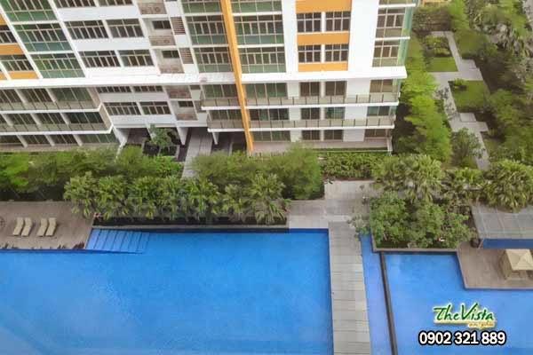 cho thuê giá rẻ the vista Cho thuê 800usd/tháng cho căn hộ 2 phòng ngủ tại The Vista