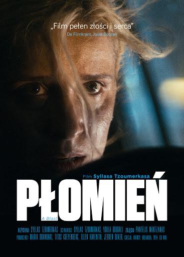 Przód ulotki filmu 'Płomień'