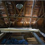 Oprava krovu kostela 19.9.2014