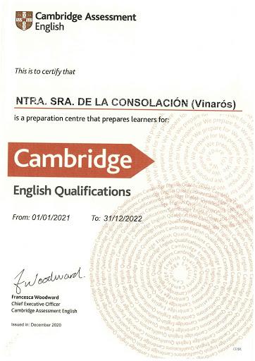 Centro Certificador Cambridge English