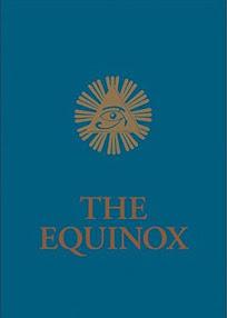 Cover of Aleister Crowley's Book The Equinox Vol III No I Blue Equinox